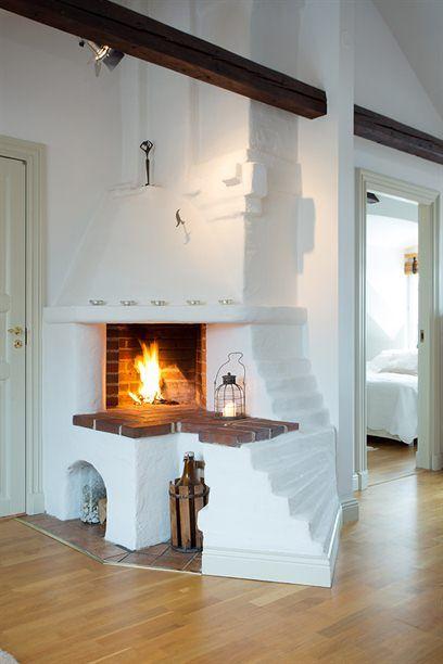 Sidan Kunde Inte Hittas Home Fireplace Small Apartment Living