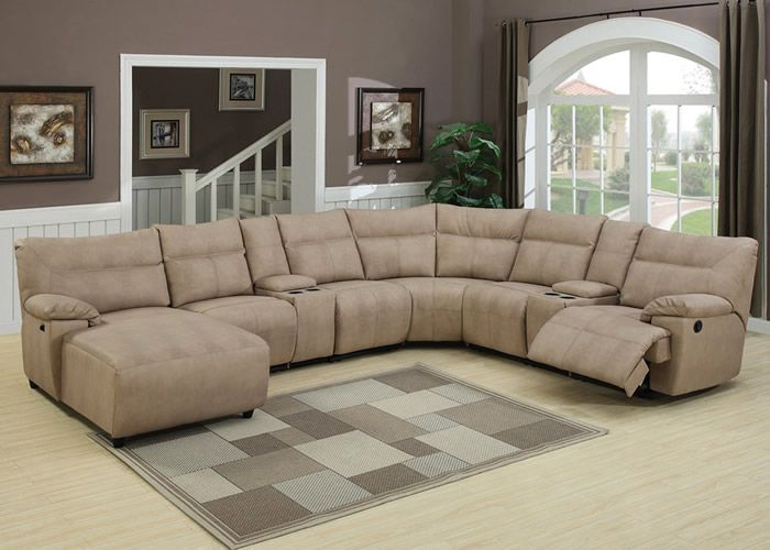 Are you looking for reclining sectional sofa for your living room? Well it is : suede sectional sofas - Sectionals, Sofas & Couches