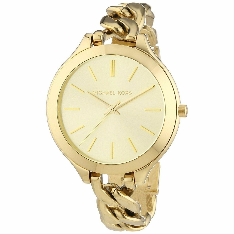 Michael Kors Mk3222 Runway 42mm Womens Gold Tone Stainless Steel Watch Michael Kors Watch Ideas Of Michael Kors Watch Michaelkorswatch In 2020