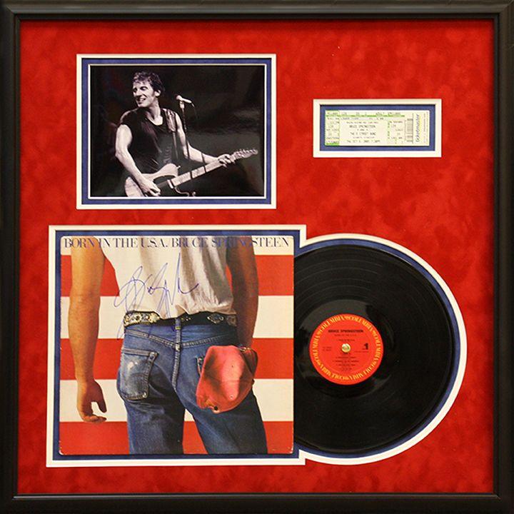 Music Memorabilia My Framing Store Inc Frame Design Framed