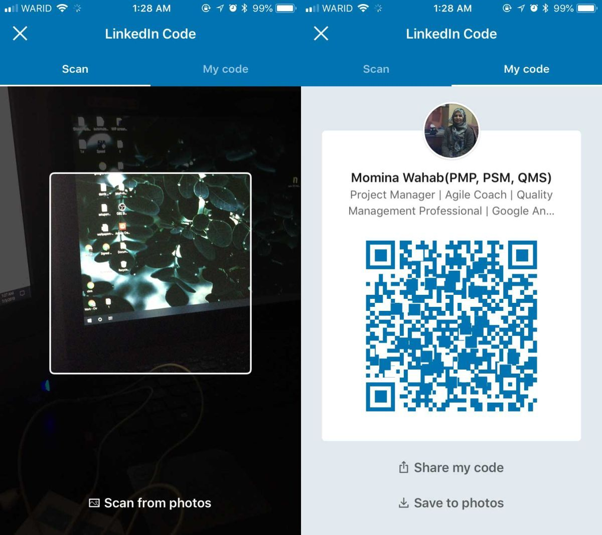 How To Get A QR Code For Your LinkedIn Profile Coding