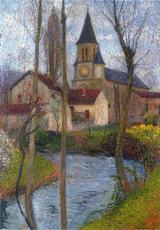 Henri Martin Church-in-Labastide-du-Vert
