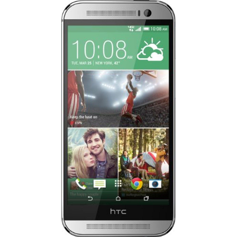 Htc One M8 Glacial Silver 32gb Verizon Wireless You Can Get Anker Astro E3 10000mah Black