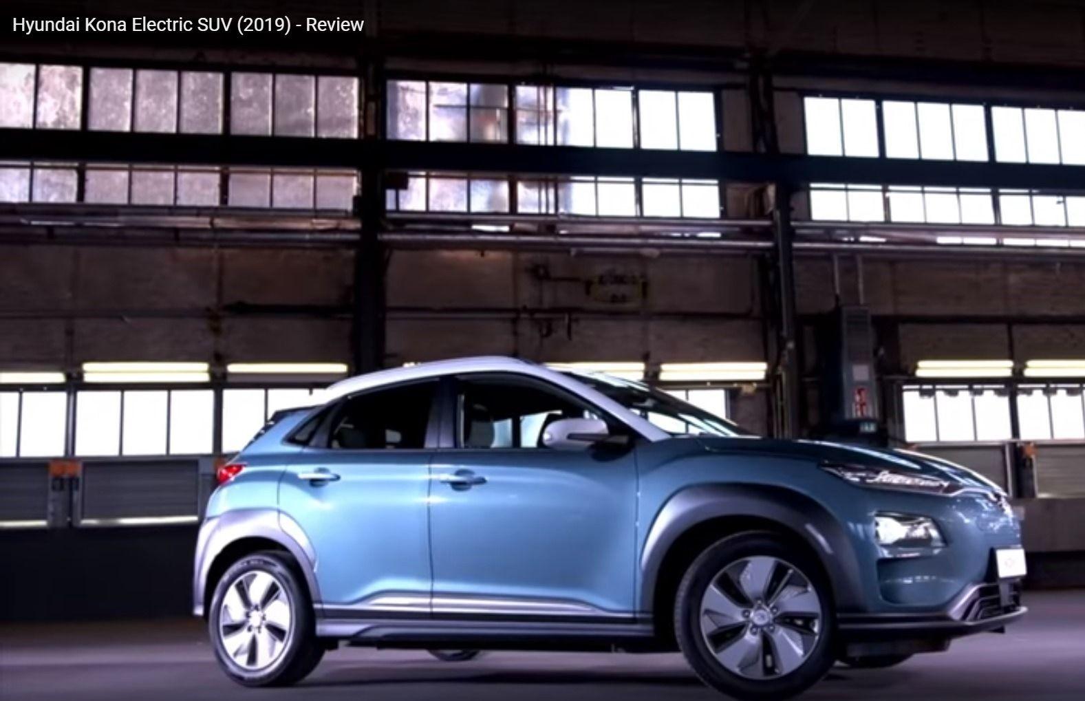 Hyundai Kona Electric SUV (2019). The base model has 186