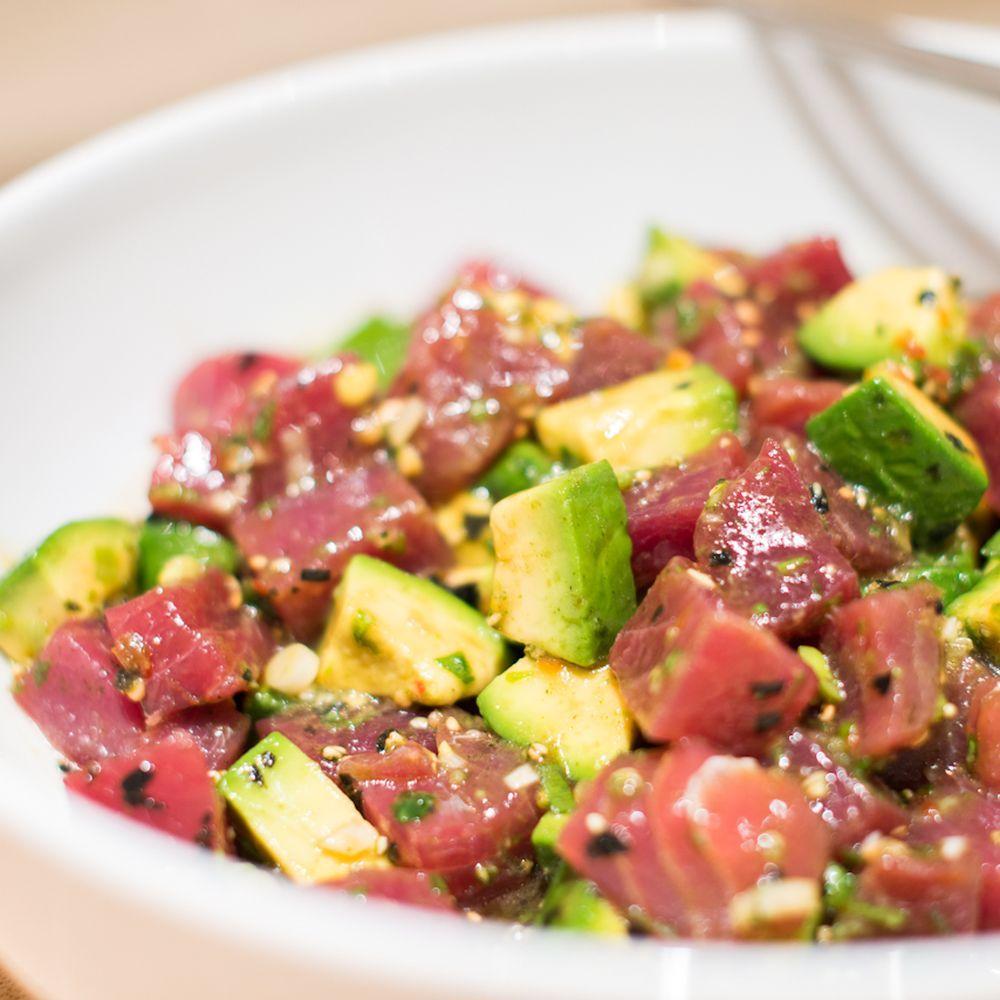Maui avocado tuna poke recipe on food52 recipe poke