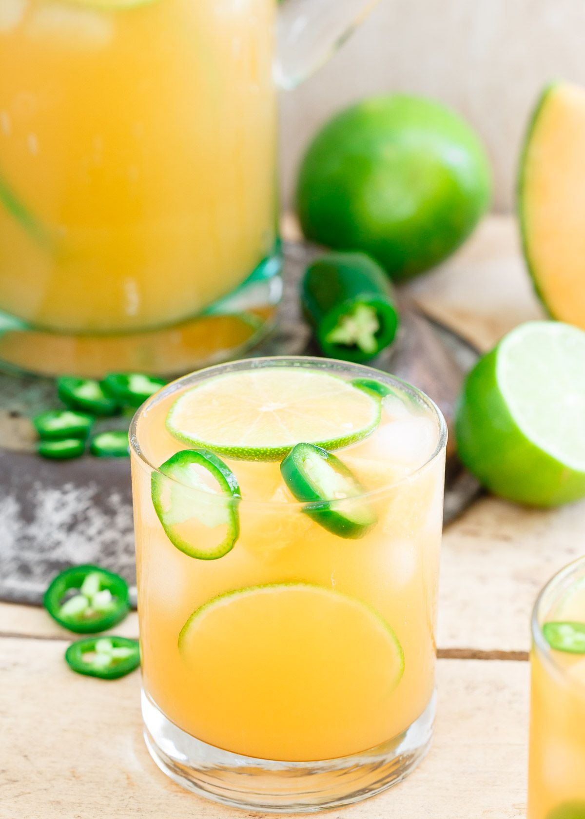 Refreshing, slightly sweet, subtly spicy and a bit tart, this cantaloupe lime…