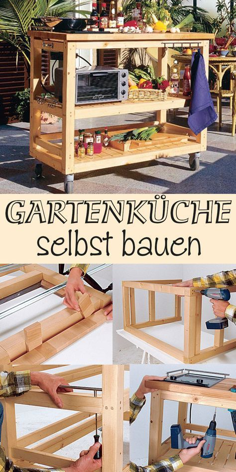 Außenküche Upcycling and Woods - outdoor küche selber bauen