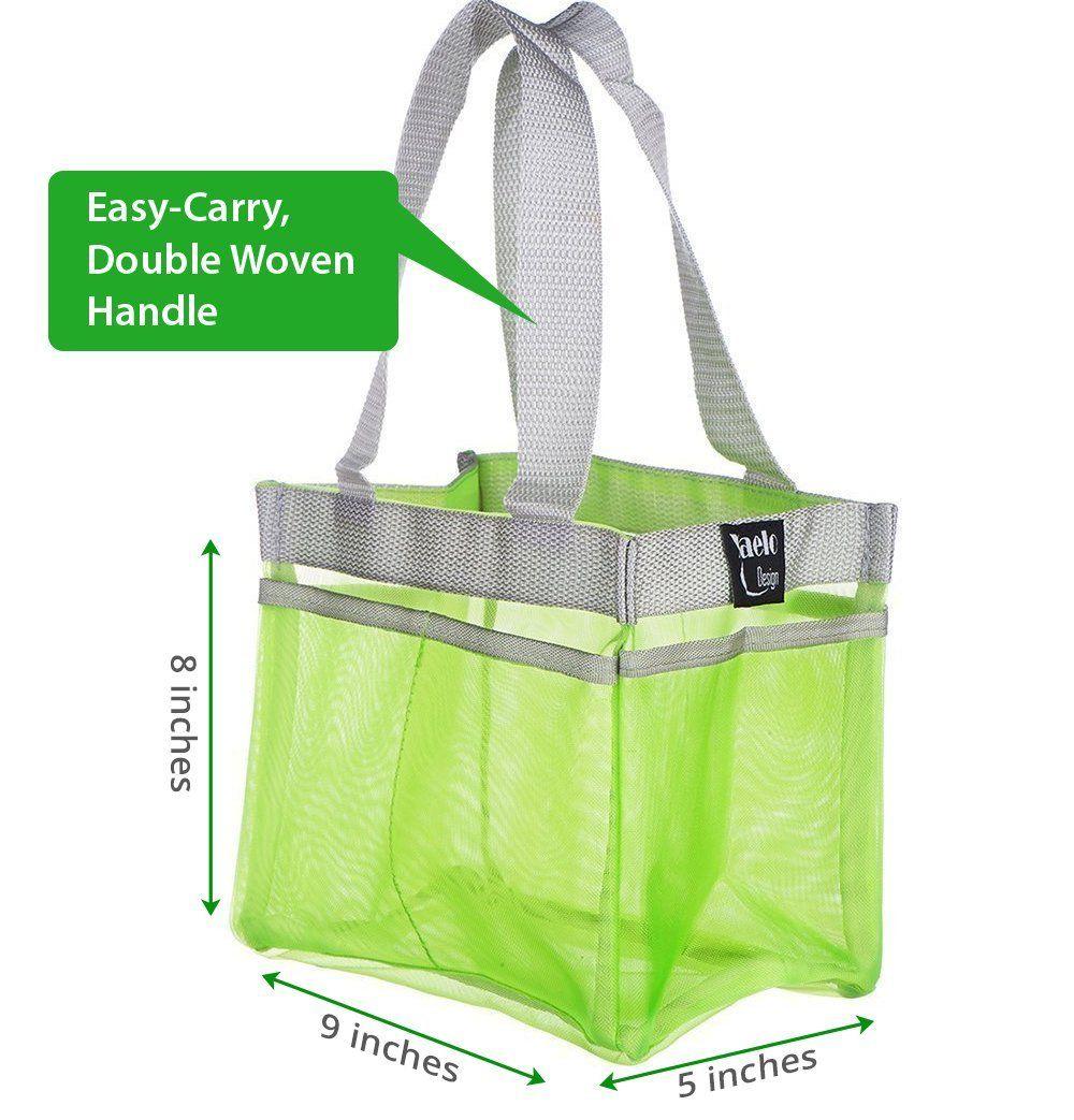 Amazon.com: Shower Caddy - Quick Dry Hanging Dorm Shower Caddy - Gym ...