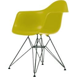 Photo of Eames Plastic Armchair Stuhl Dar mit Filzgleitern Vitra