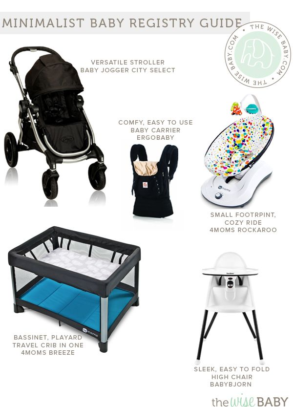 Minimalist Baby Registry Guide, version ii - an update to one of - baby registry checklists