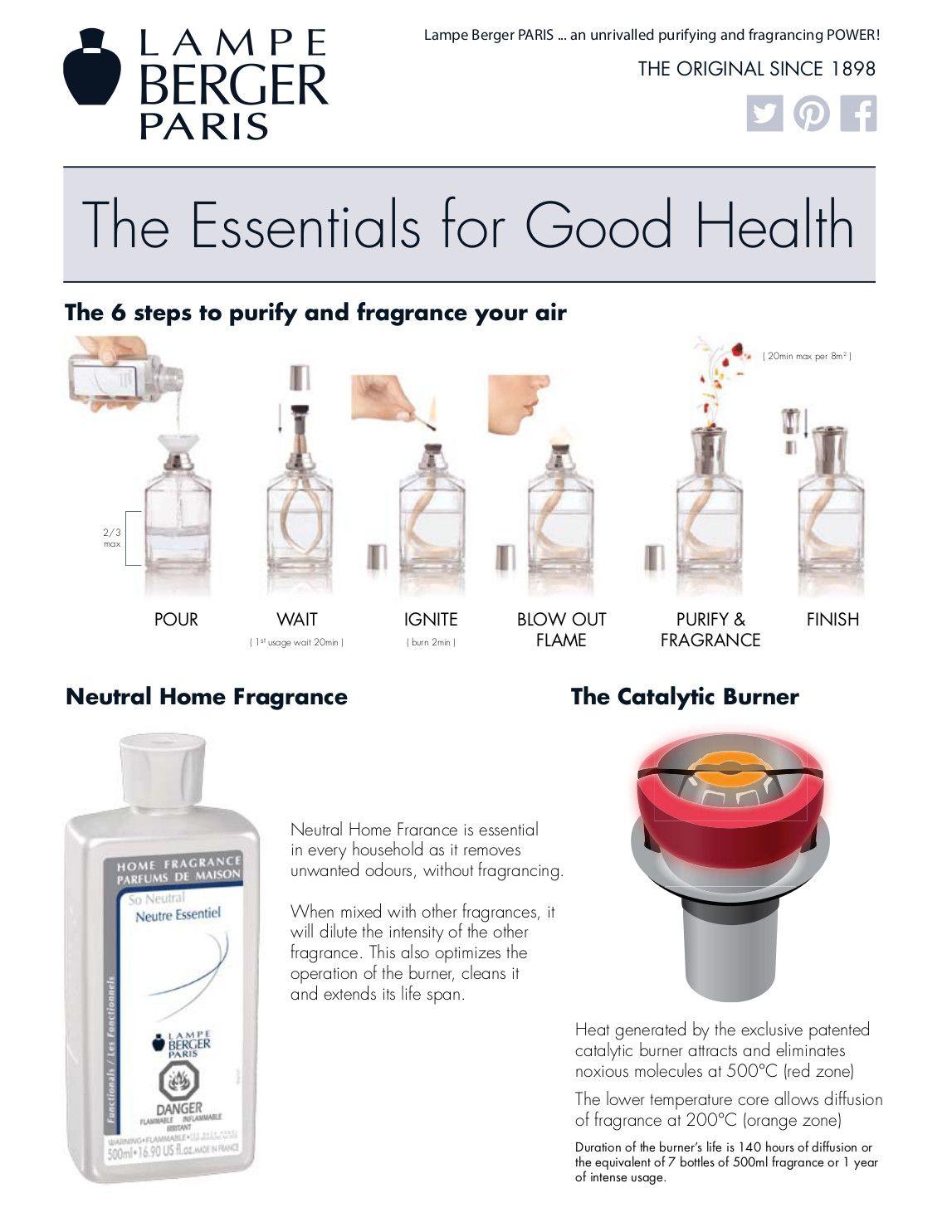 Lampe Berger Fact Sheet English 35 2 Home Fragrance Fragrance Berger