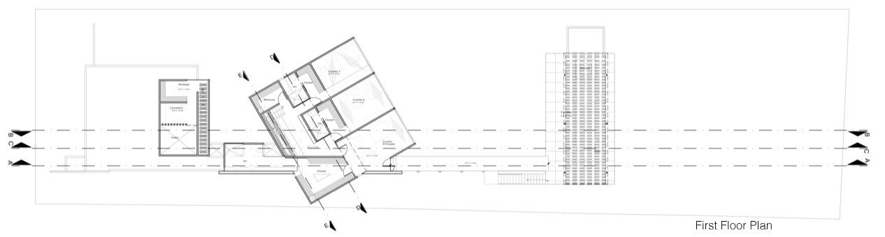 House Among Trees   Muñoz Arquitectos Asociados #drawing #plan