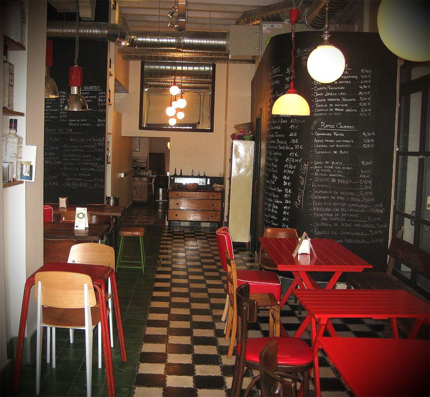 Restaurantes vintage buscar con google ideas bar for Interiores de restaurantes