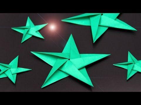 Servietten falten Anleitung: Stern für Weihnachten basteln ...