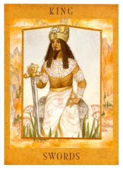 The Goddess Tarot Deck: King of Swords | King of swords. Tarot