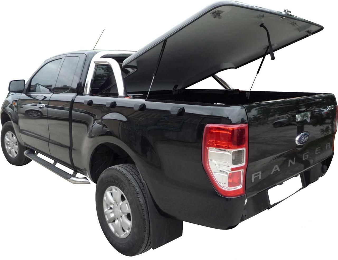 TONNEAU COVER CT FORD RANGER 2012+ SUPER CAB COMP ROLL BAR