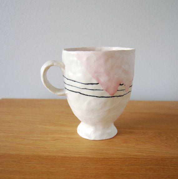 Pinch Pot Method Coffee Mug.