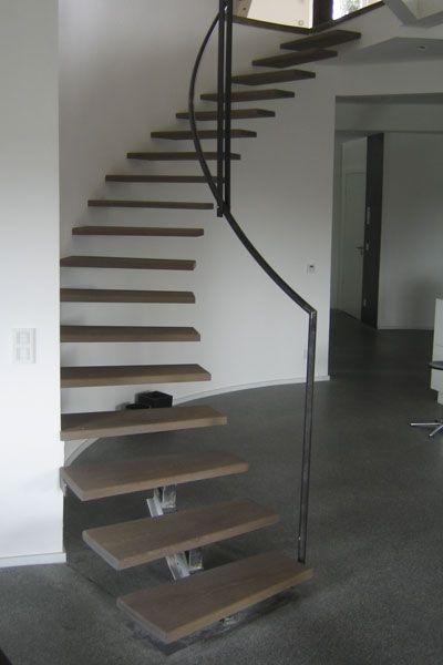 Freischwebende Treppe frei schwebende treppe | ehrenstein holzbau | enko treppen | pinterest