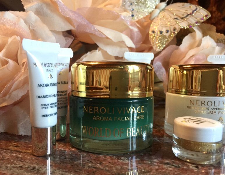 Photo of Neroli Mythique face and neck repair cream with precious and …
