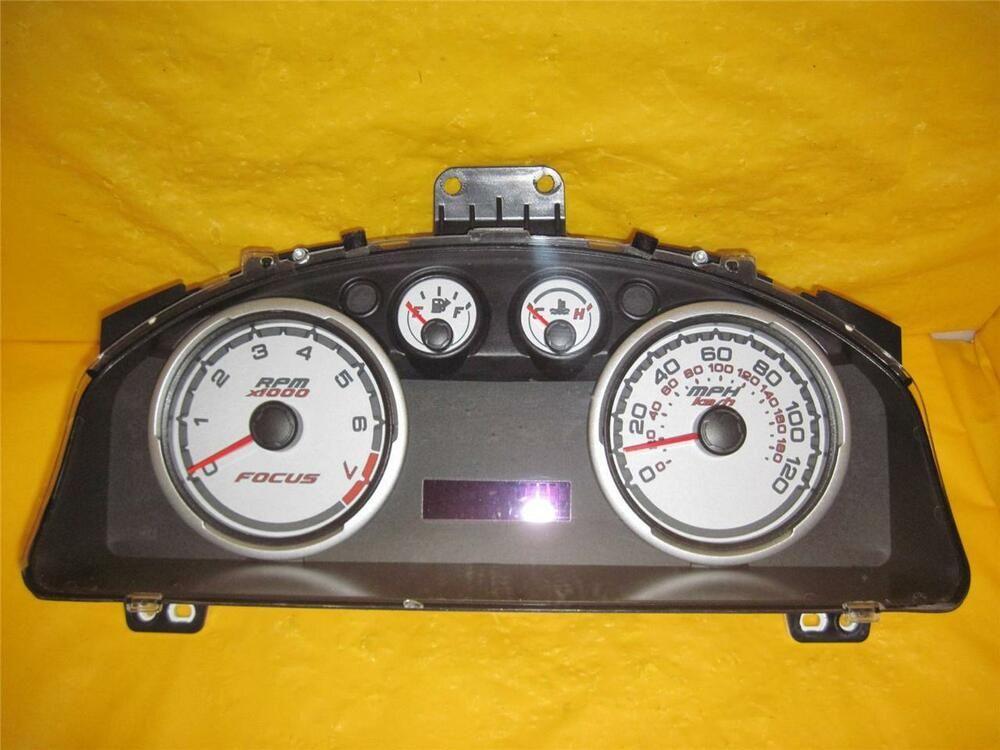 Sponsored Ebay 2010 2011 Focus Speedometer Instrument Cluster