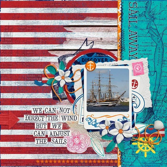 Sweet Shoppe Designs :: Digital Scrap Kits :: Ahoy There by Sugary Fancy