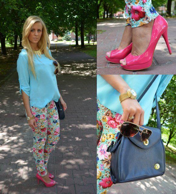 Spodnie W Kwiaty Z Czym Nosic Szukaj W Google Fashion Michael Kors Hamilton Kors Hamilton