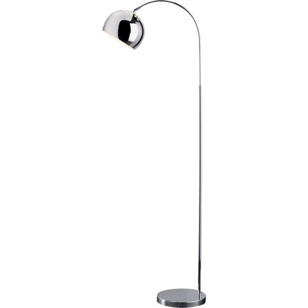 Buy home curva floor lamp chrome at argos visit argos buy home curva floor lamp chrome at argos visit argos aloadofball Choice Image