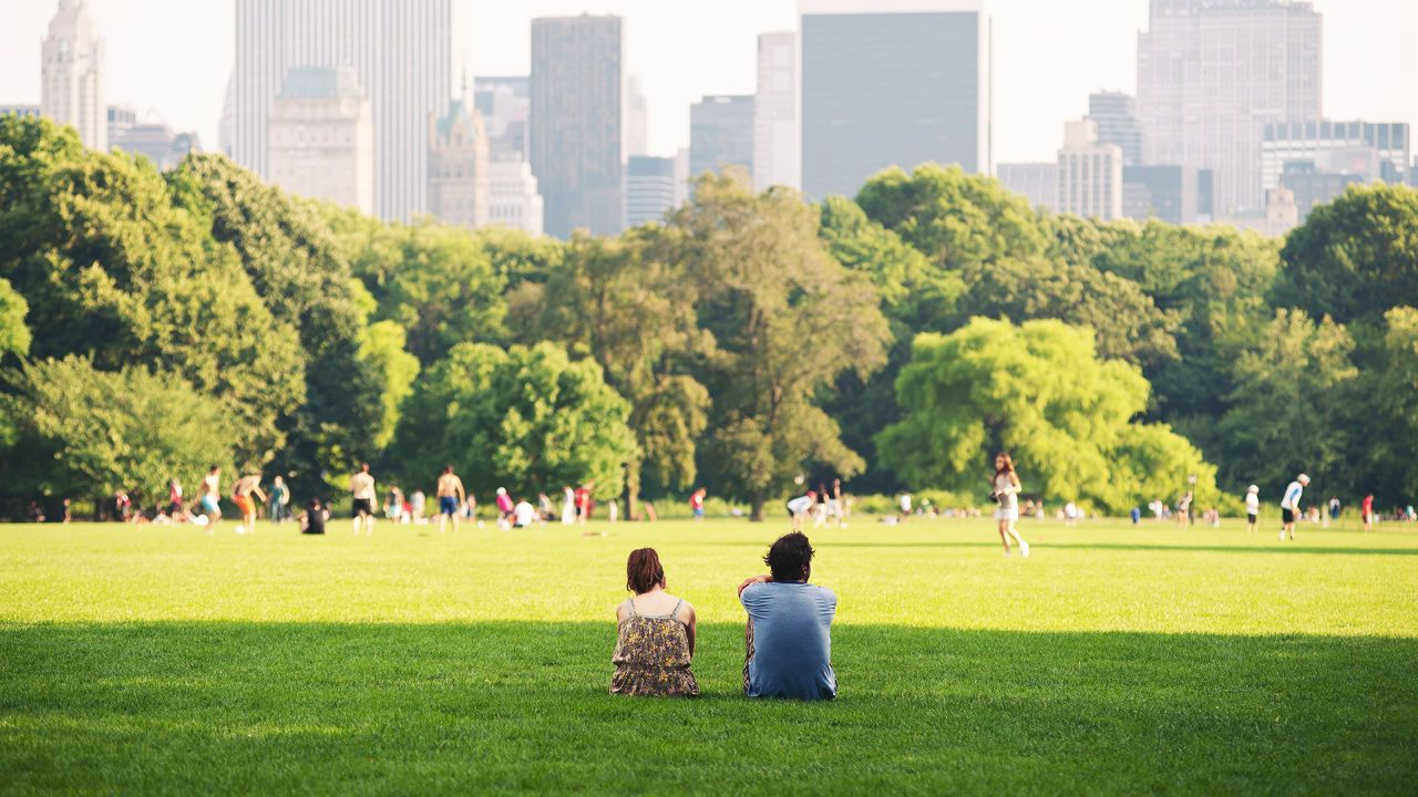 If You Live Near A Park You Re More Likely To Be Happy Co Exist Ideas Impact Leaving New York Park International Day Of Happiness