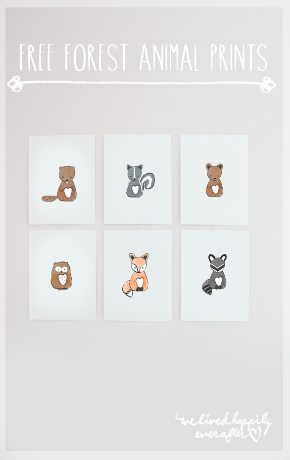 These Foxy Prints Are Perfect For Future Animal Lovers Nursery Animal Prints Forest Animal Nursery Nursery Printables
