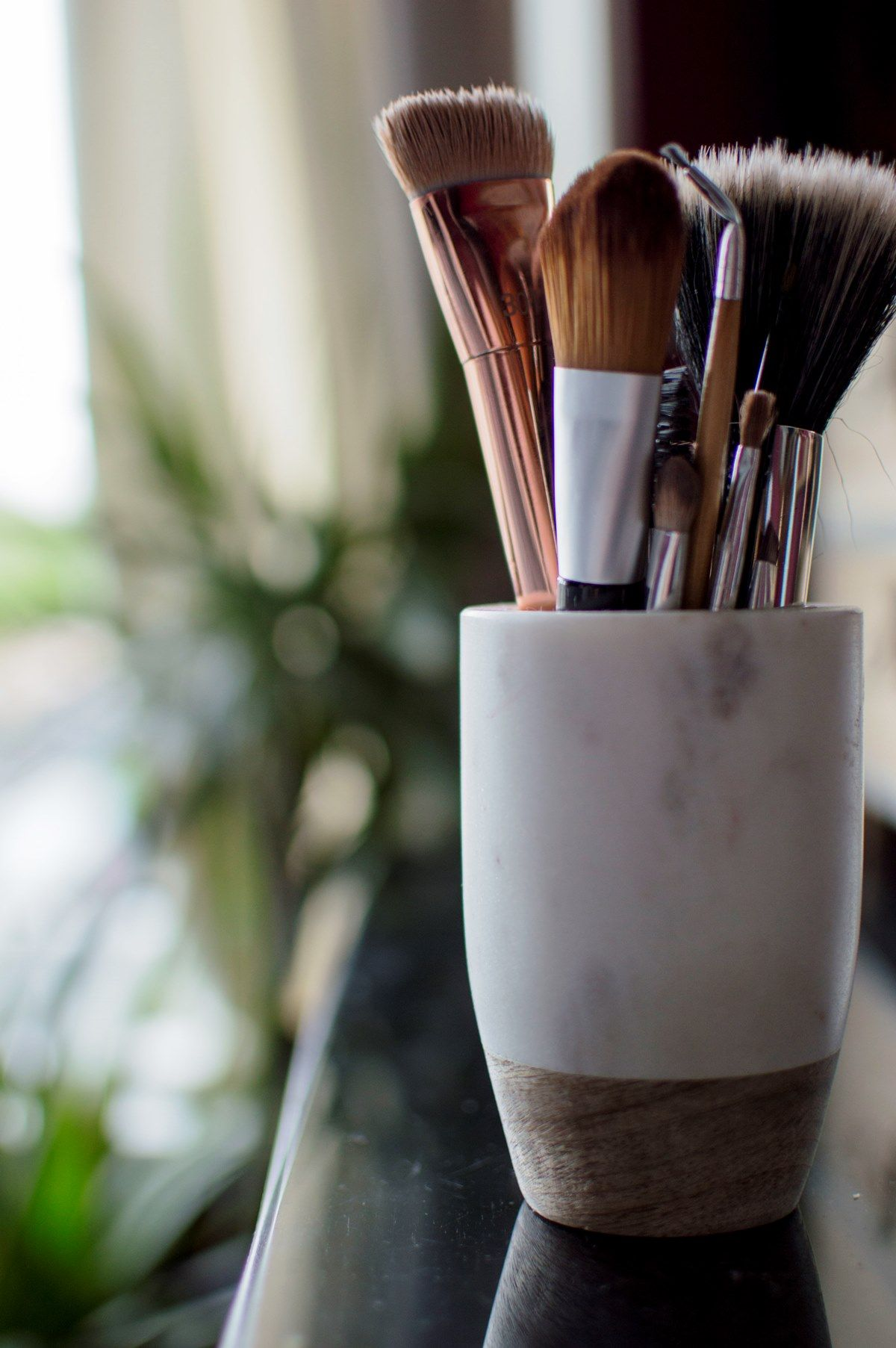 Ethereal Style, High Street Prices Makeup brush holders