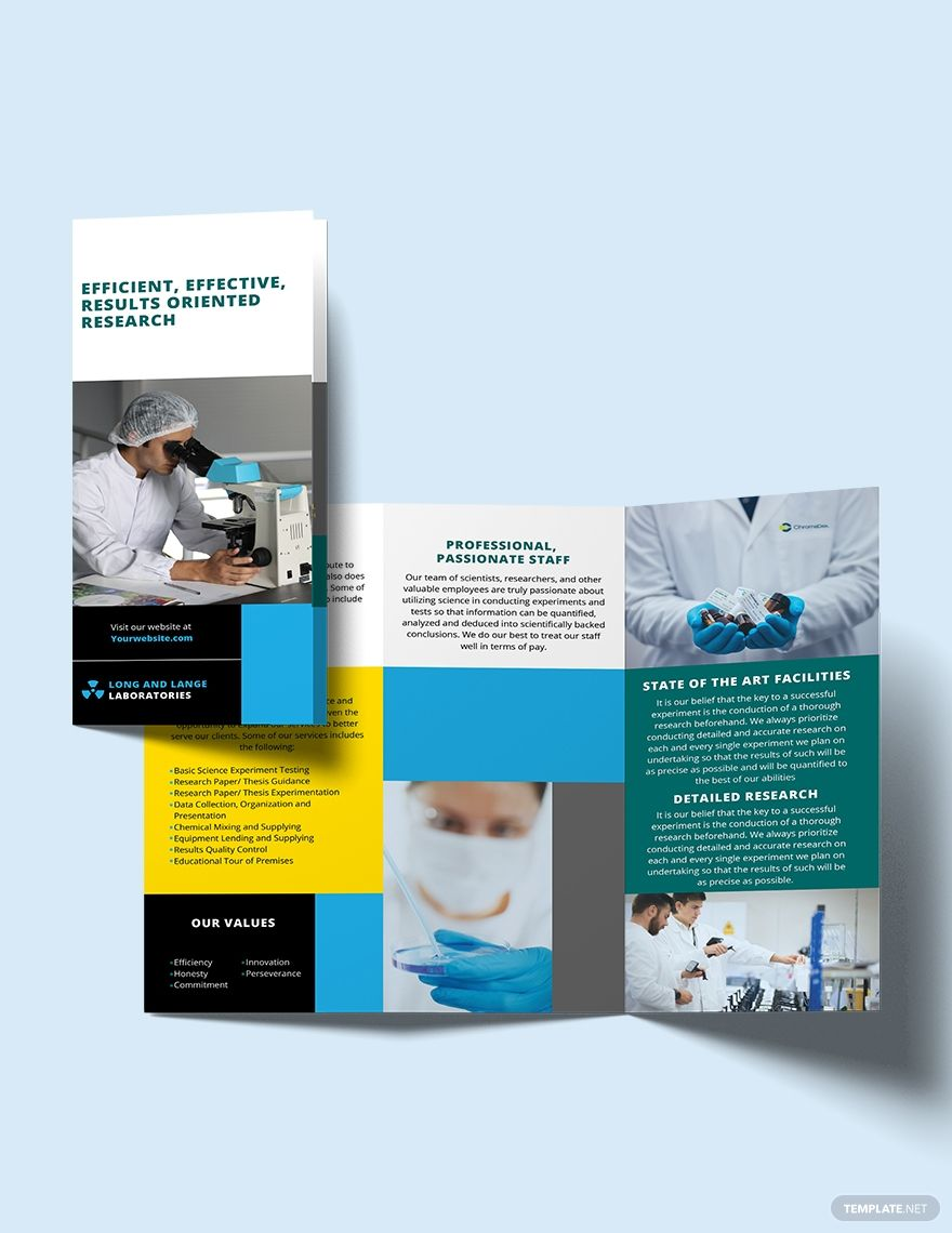 Science Tri Fold Brochure Template Free Publisher Illustrator Indesign Word Apple Pages Psd Template Net Trifold Brochure Trifold Brochure Template Brochure Template Tri fold brochure template publisher