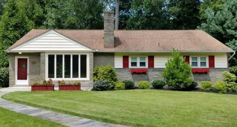 A home for sale at 320 kent rd broomall pa 19008 in
