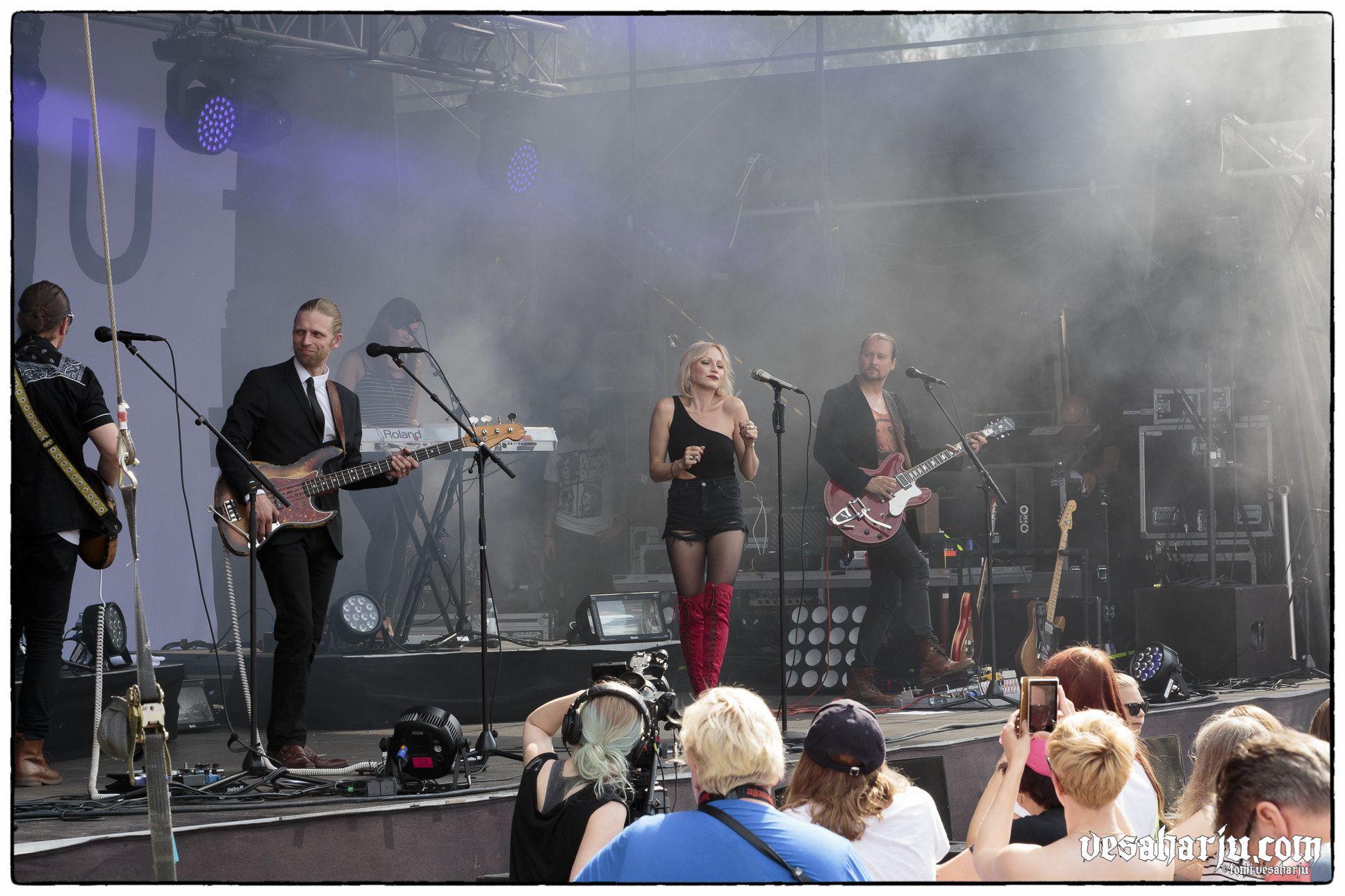 Chisu   Riihimäki Rock 2016   Riihimäki - Chisu live at Riihimäki Rock, Riihimäki, Finland 2016
