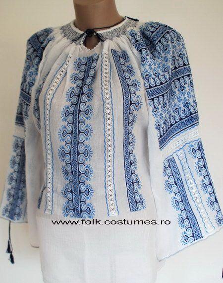 bien connu une grande variété de modèles vente la moins chère la belle blouse roumaine: ie romaneasca | blusas bordadas ...