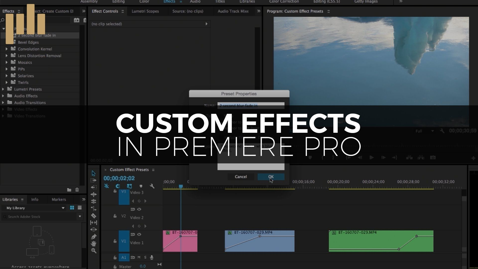 Easily save and share your Premiere Pro presets with this helpful