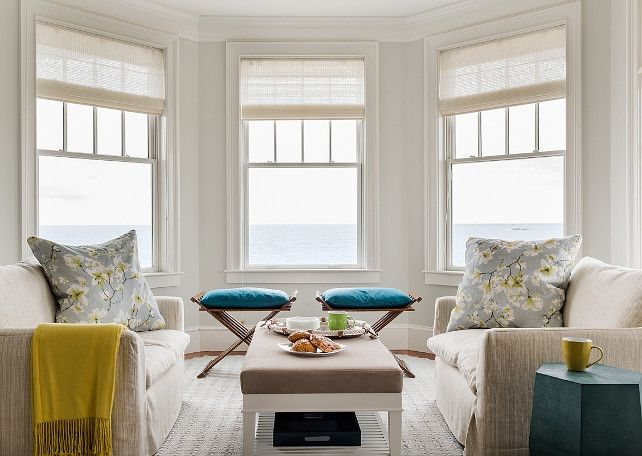 Bay Window Decorating Ideas Room With Bay Window Coastal