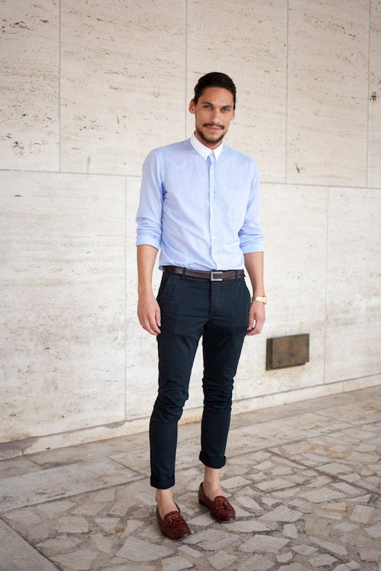 12bf00283470c Pin by Shelly George on MensStyle   Fashion, Light blue dress shirt ...