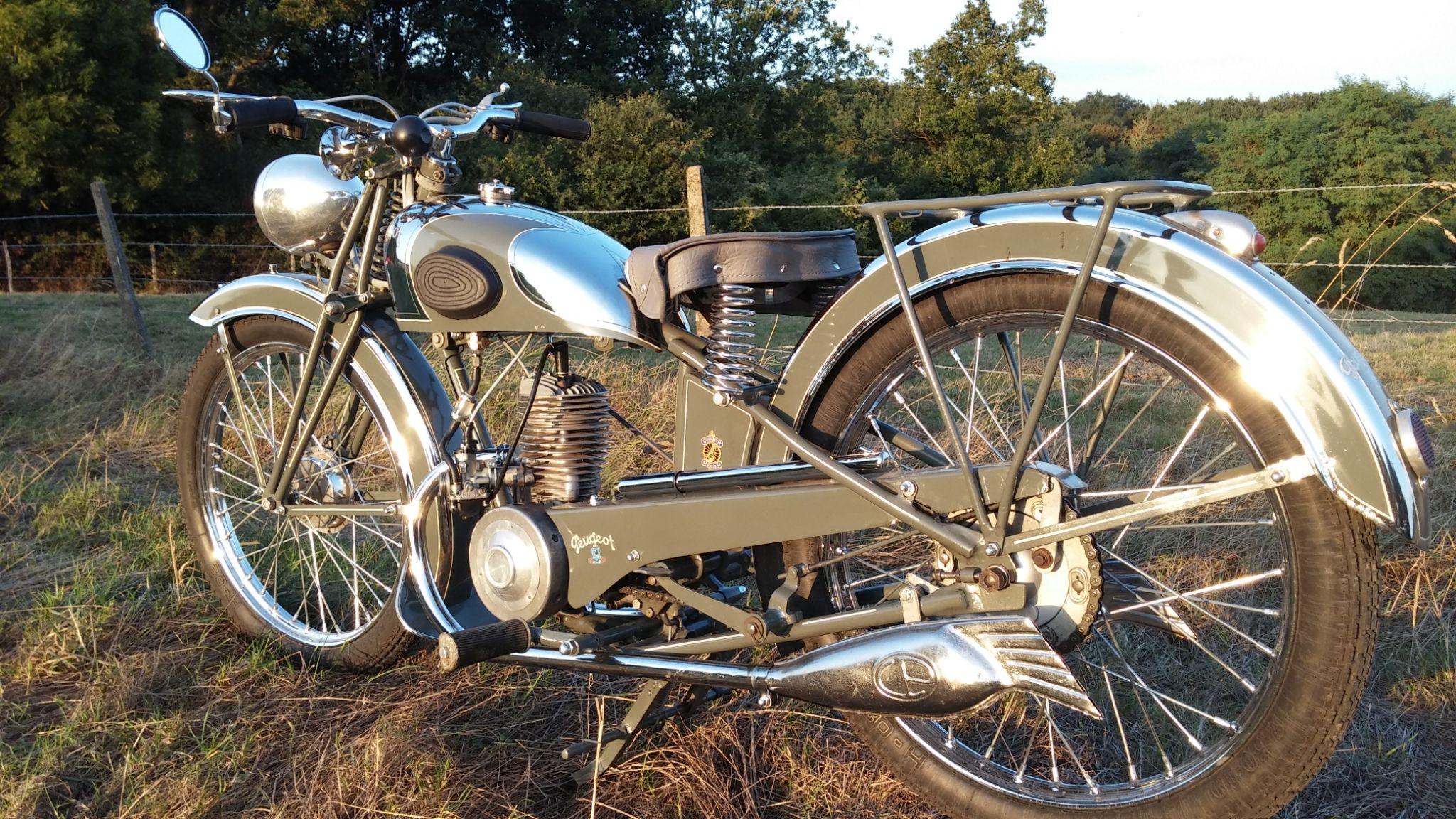 Peugeot P53 100cc 1939 Peugeot Motos Anciennes Motos