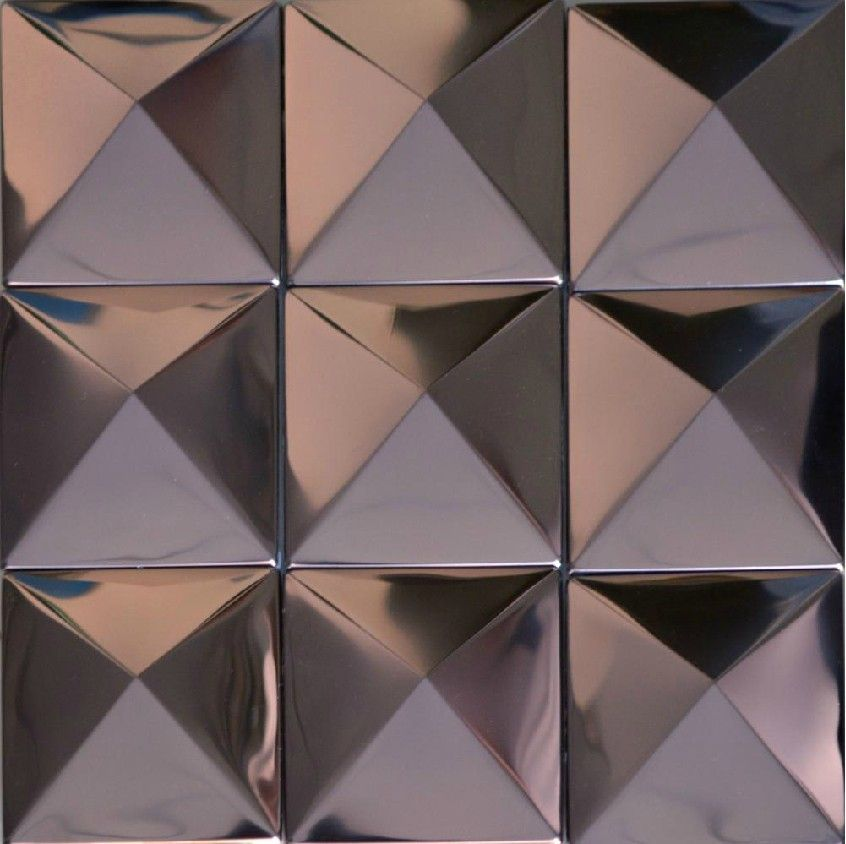 A Huge Selection Of Metal Mosaic Stainless Steel Tile From My Building Shop Mosaic Wall Tiles Metal Mosaic Wall Metal Mosaic Tiles