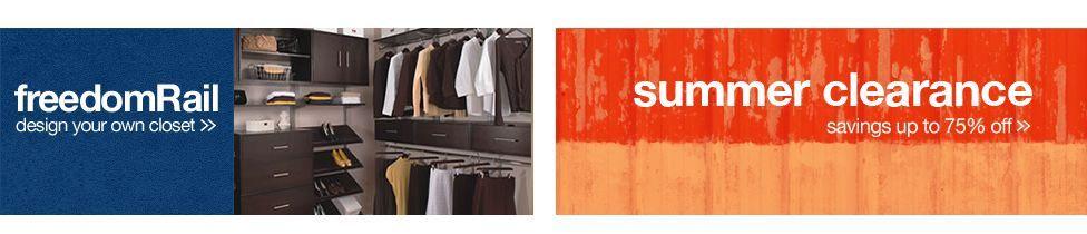 Organize.com | Complete Home Organization and Storage (Shopping) #summerhomeorganization Organize.com | Complete Home Organization and Storage (Shopping) #summerhomeorganization