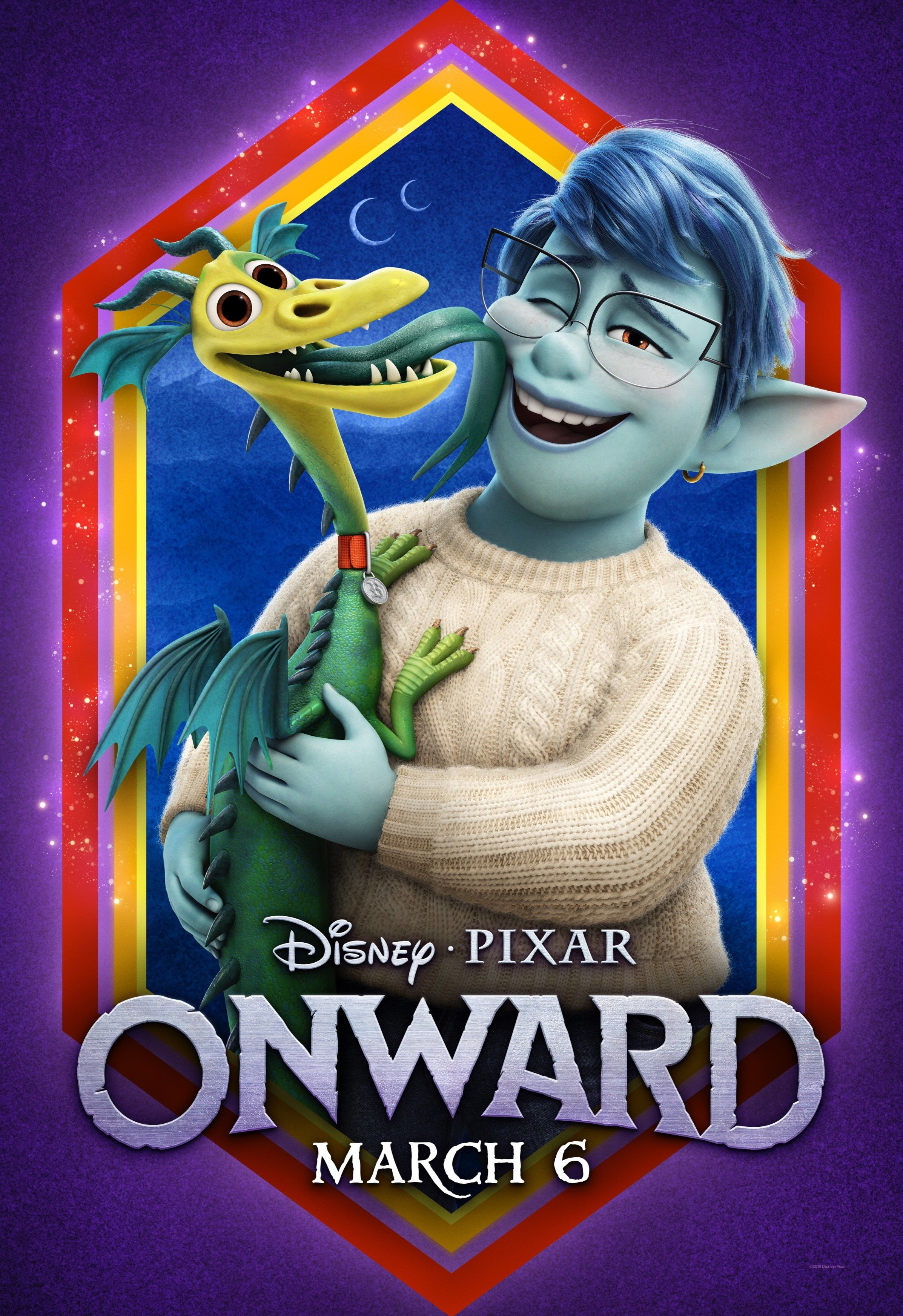 The New Onward Character Posters Are Incredibly Cute, Look