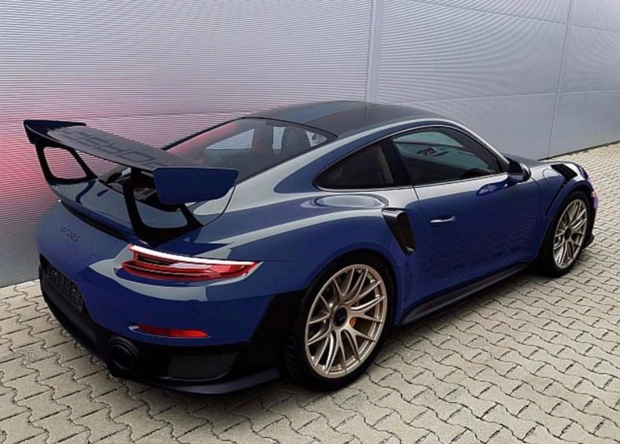 porsche 991 gt2 rs painted in paint to sample dark sea. Black Bedroom Furniture Sets. Home Design Ideas