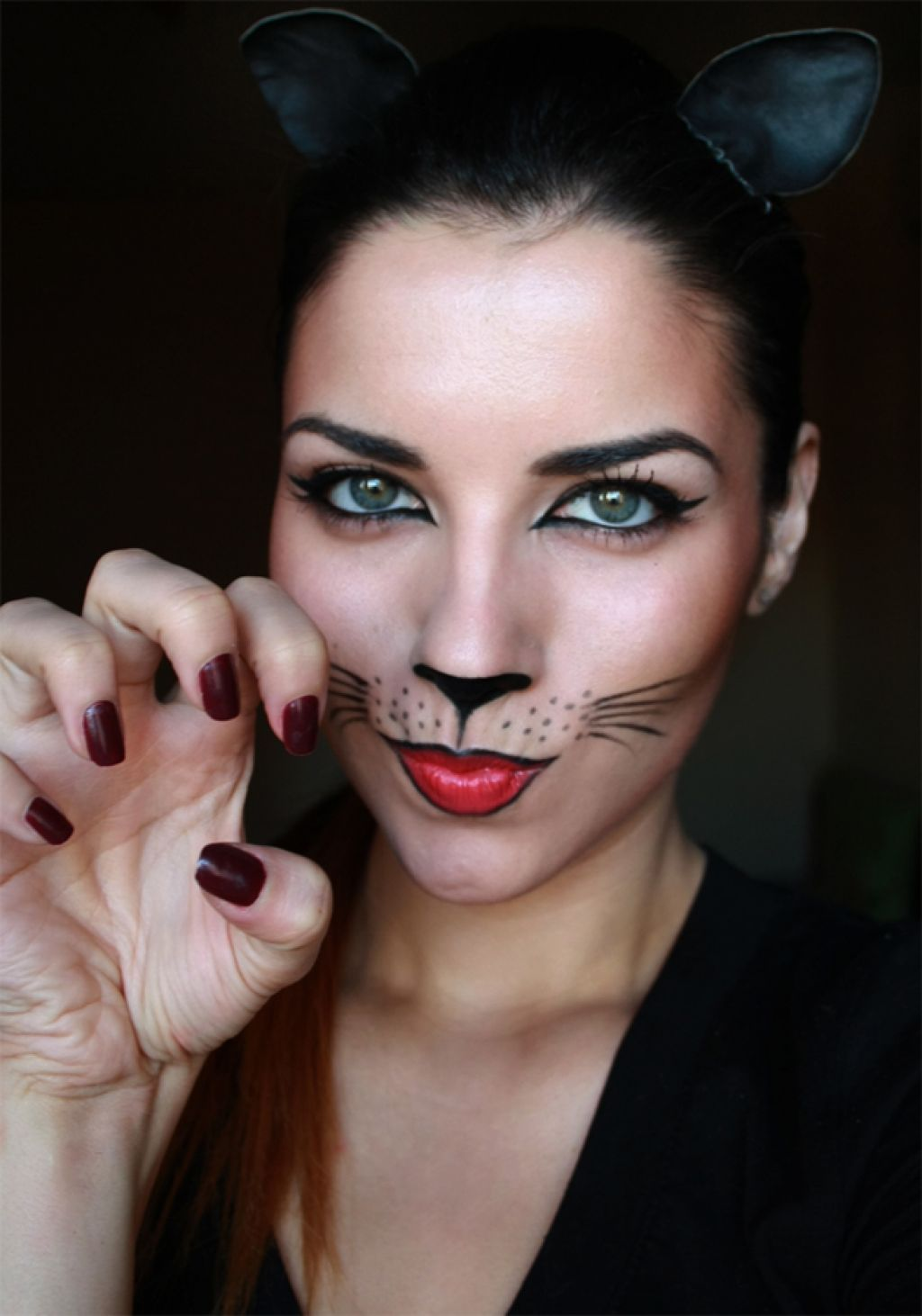 halloween cat makeup ideas costumes and cosplay pinterest cats halloween costumes and. Black Bedroom Furniture Sets. Home Design Ideas