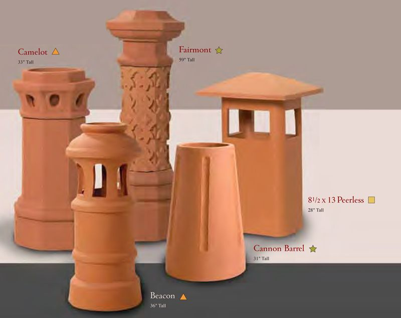 Clay Chimney Pots Possible Choices Kitchen On A Budget Clay Kitchen Decor