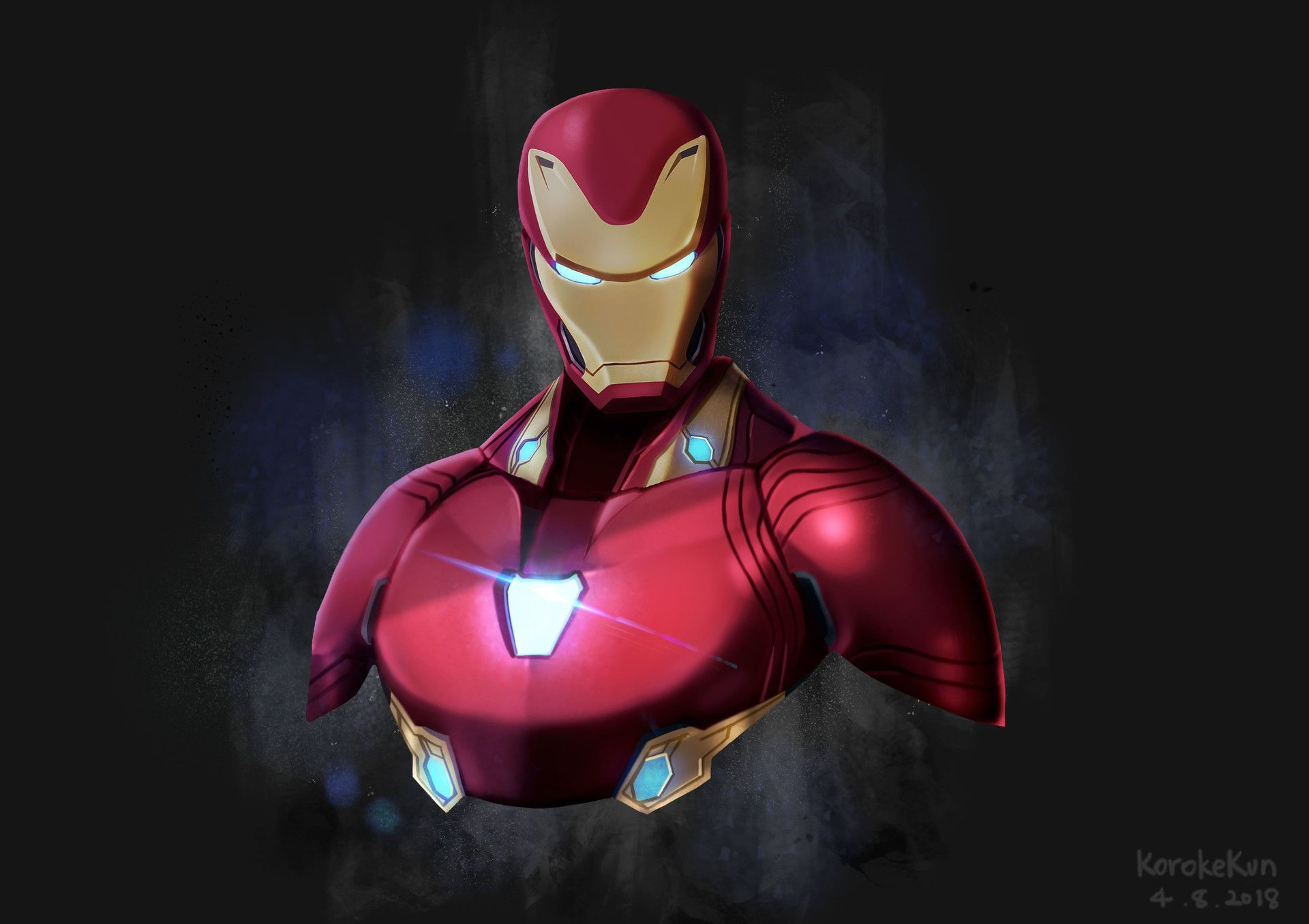 iron man avengers infinity war artwork http://livewallpaperswide