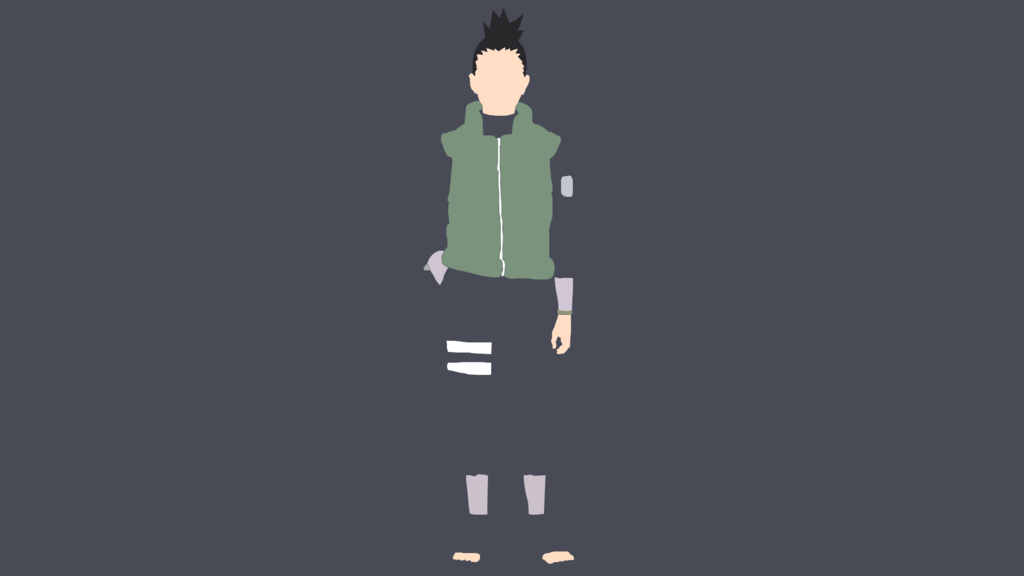 Shikamaru Minimalistic Wallpaper By Kajimu Shikamaru Anime Wallpaper Anime Wallpaper Iphone