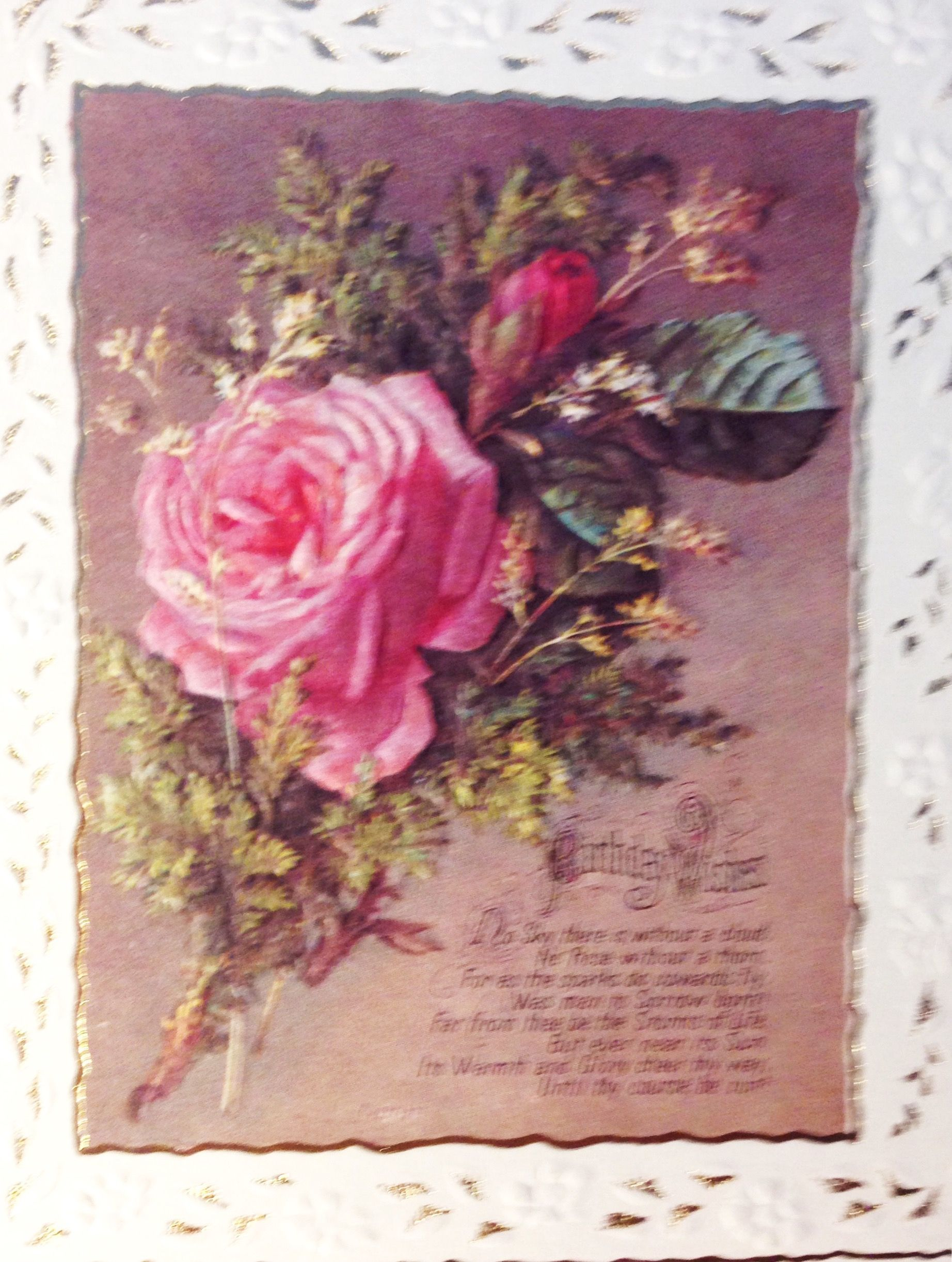 Pin By Babcia G On Vintage Birthdaygreeting Cards Pinterest