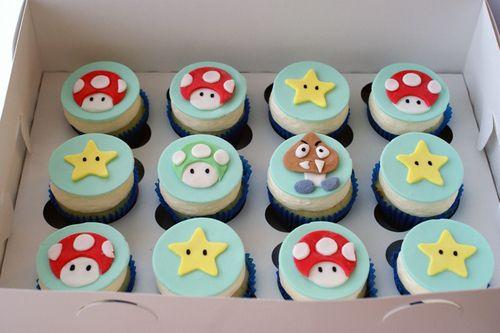 Nintendo cupcakes!