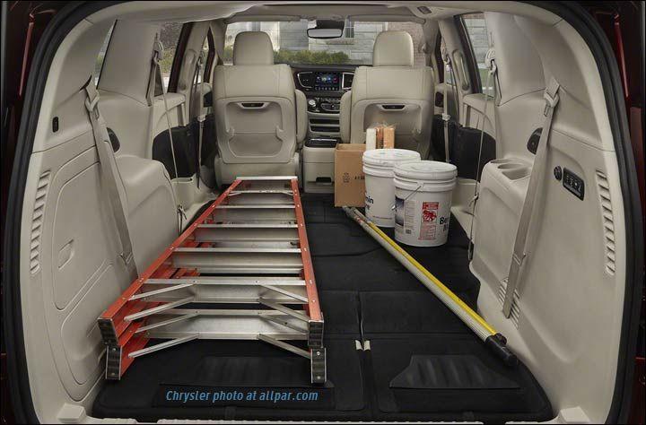 2017 Chrysler Pacifica Cargo Contractors Chrysler Pacifica Chrysler