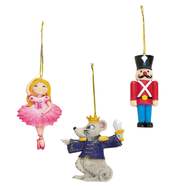 Nutcracker Ballet Christmas Ornaments - OrientalTrading.com | Famous ...